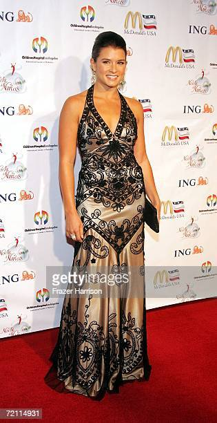 Indy Racing League driver Danica Patrick Danica Patrick arrives at the 2nd Annual Noche De Ninos in aid of the Childrens Hospital Los Angeles...