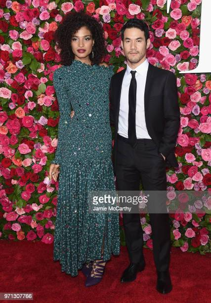 Indya Moore and Joseph Altuzarra attend the 72nd Annual Tony Awards on June 10 2018 in New York City