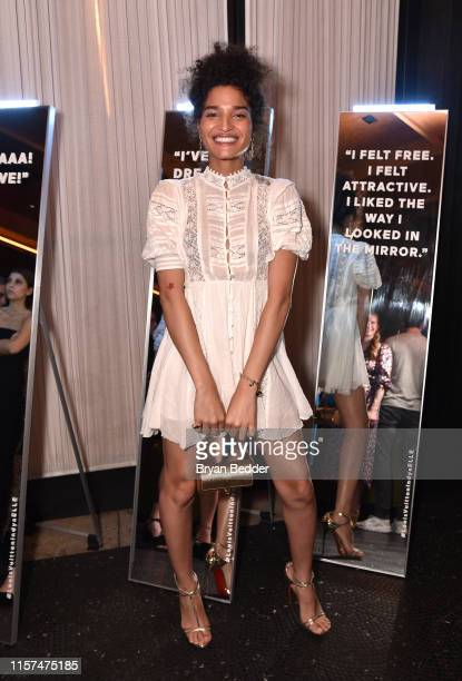 Indya Moore attends as ELLE Louis Vuitton celebrate her ELLE cover at Diego at PUBLIC on June 21 2019 in New York City