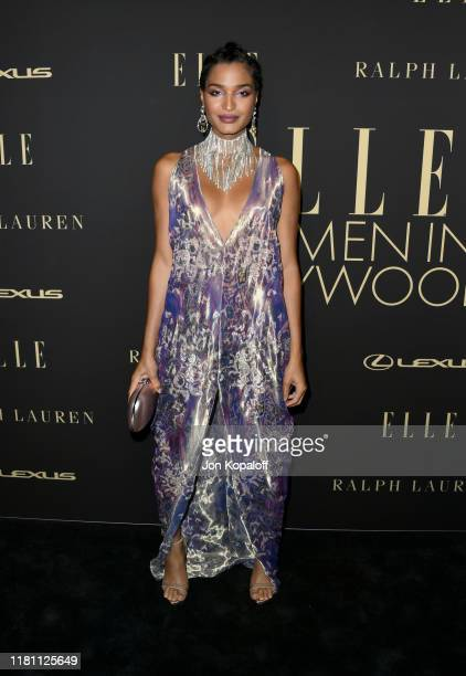 Indya Moore attends ELLE Women In Hollywood at the Beverly Wilshire Four Seasons Hotel on October 14 2019 in Beverly Hills California