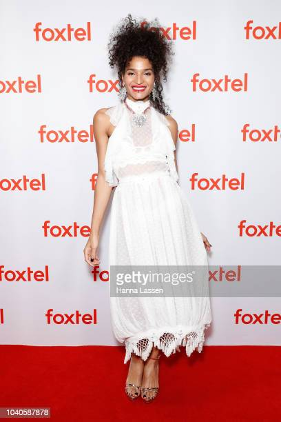 Indya Moore attends Foxtel's 2018/2019 Drama Showcase at Dendy Opera Quays on September 26 2018 in Sydney Australia