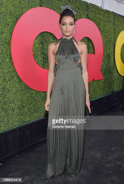 Indya Moore attends the 2018 GQ Men of the Year Party at a private residence on December 6 2018 in Beverly Hills California