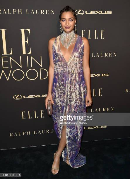 Indya Moore attends the 2019 ELLE Women In Hollywood at the Beverly Wilshire Four Seasons Hotel on October 14 2019 in Beverly Hills California