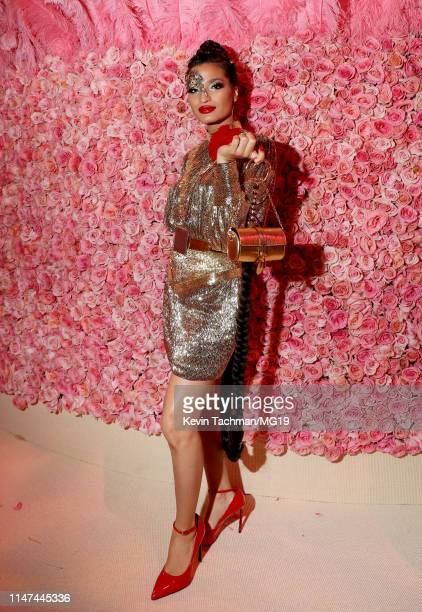 Indya Moore attends The 2019 Met Gala Celebrating Camp Notes on Fashion at Metropolitan Museum of Art on May 06 2019 in New York City