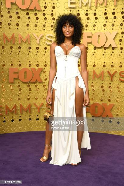 Indya Moore attends the 71st Emmy Awards at Microsoft Theater on September 22 2019 in Los Angeles California