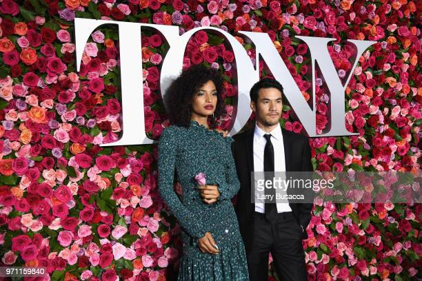 Indya Moore attends the 72nd Annual Tony Awards at Radio City Music Hall on June 10 2018 in New York City