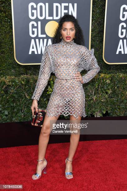 Indya Moore attends the 76th Annual Golden Globe Awards at The Beverly Hilton Hotel on January 6 2019 in Beverly Hills California
