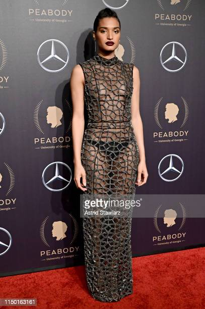 Indya Moore attends the 78th Annual Peabody Awards Ceremony Sponsored By MercedesBenz at Cipriani Wall Street on May 18 2019 in New York City