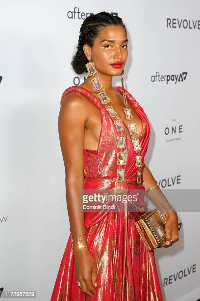 Indya Moore attends The Daily Front Row's 7th annual Fashion Media Awards at The Rainbow Room on September 05 2019 in New York City