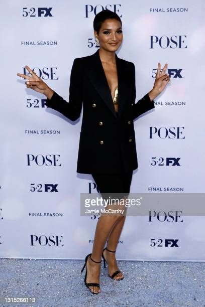 """Indya Moore attends the FX's """"Pose"""" Season 3 New York Premiere at Jazz at Lincoln Center on April 29, 2021 in New York City."""