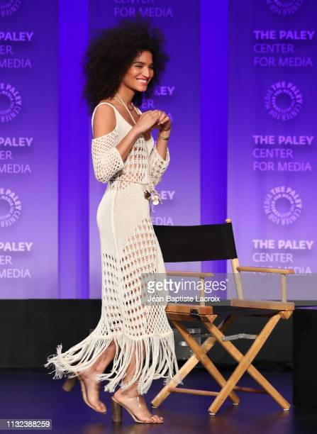 Indya Moore attends the Paley Center For Media's 2019 PaleyFest LA Pose held at the Dolby Theater on March 23 2019 in Los Angeles California