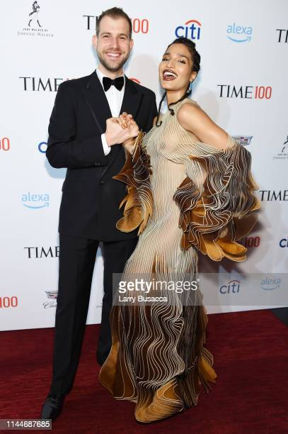 Indya Moore attends the TIME 100 Gala 2019 Cocktails at Jazz at Lincoln Center on April 23 2019 in New York City