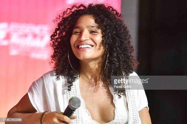 Indya Moore speaks on stage at 2019 ESSENCE Festival Presented By CocaCola at Ernest N Morial Convention Center on July 05 2019 in New Orleans...