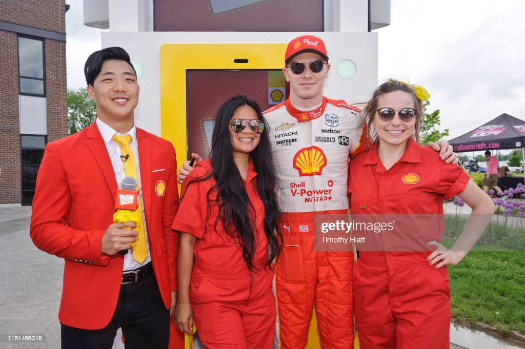 IN: Shell V-Power Nitro+ Launch: What The Pump With Indy 500 Fans