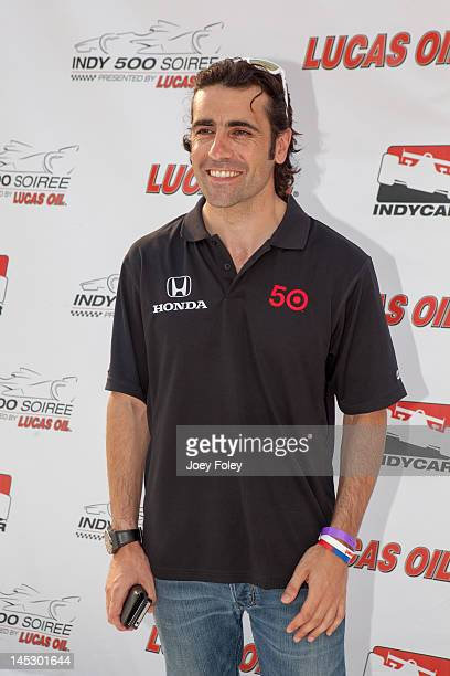 Indycar Driver Dario Franchitti attends the Indy 500 Soiree Presented by Lucas Oil on May 25 2012 in Indianapolis Indiana
