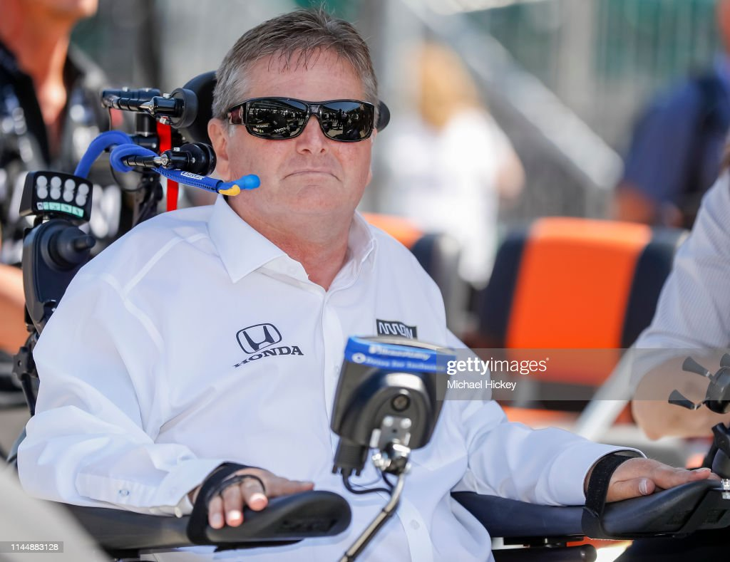 103rd Indianapolis 500 - Practice : News Photo