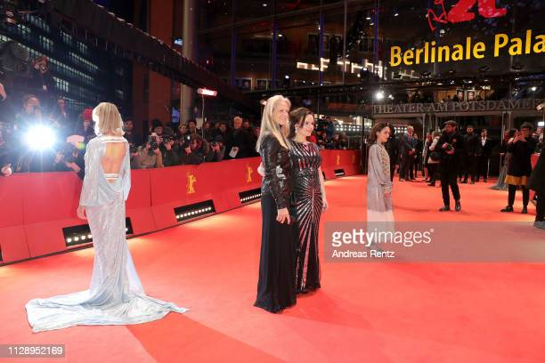 Ine Marie Wilmann , Martha De Laurentiis, Kristin Thora Haraldsdottir and Emma Drogunova arrive for the European Shooting Stars 2019 ceremony and...