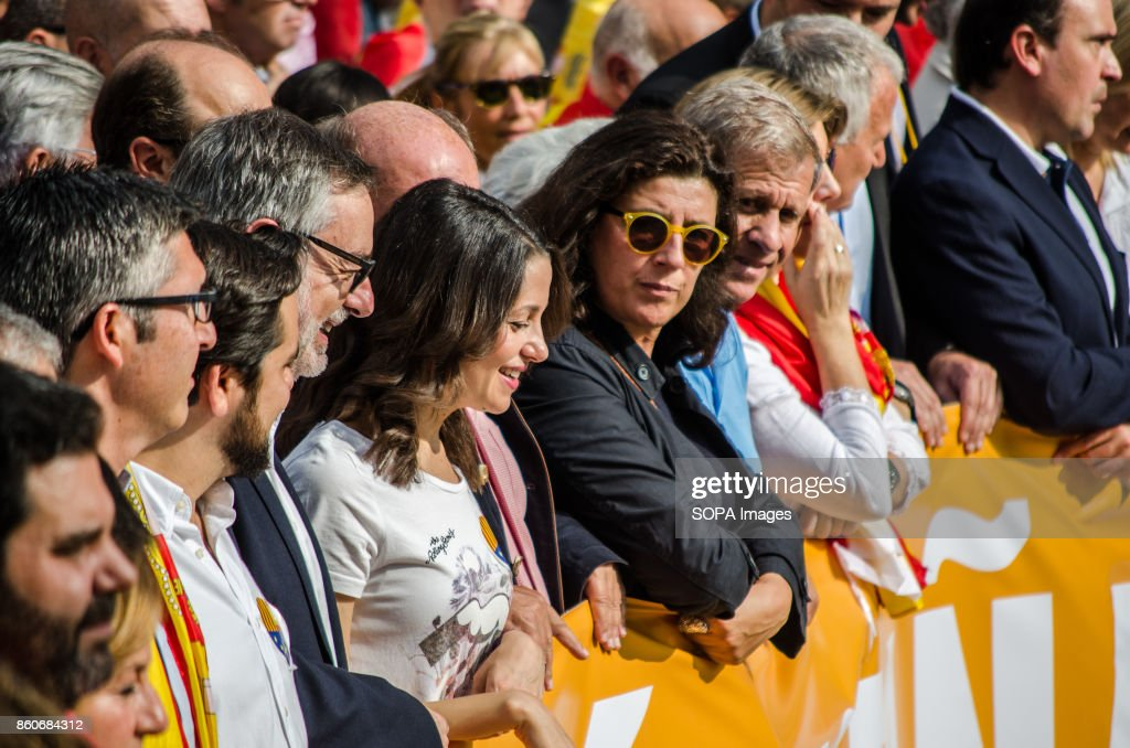 ines arrimadas leader of citizens headed by the unionist