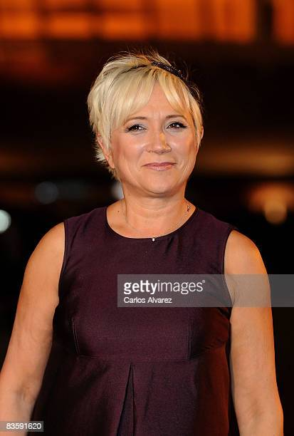 Ines Ballester attends Quantum of Solace premiere at the Palau de las Arts on November 06 2008 in Valencia Spain
