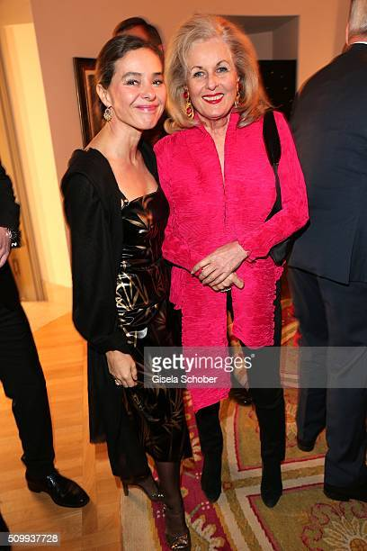Ines Carvajal Argueelles and Alexandra Oetker during the Bunte and BMW Festival Night 2016 during the 66th Berlinale International Film Festival...
