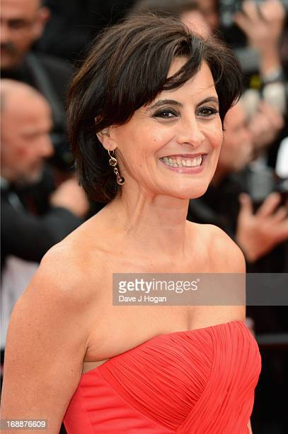 Ines De La Fressage attends the 'Jeune Jolie' premiere during The 66th Annual Cannes Film Festival at the Palais des Festivals on May 16 2013 in...