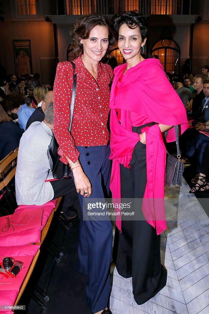 Schiaparelli : Front Row - Paris Fashion Week - Haute Couture Fall/Winter 2015/2016