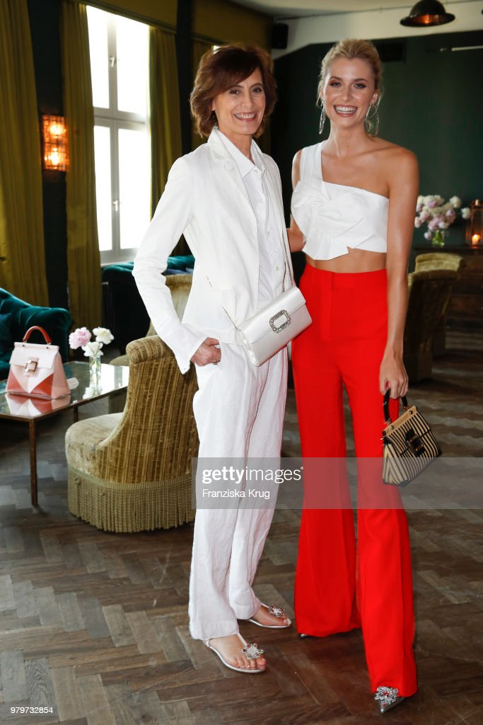 f734758c43 Ines de la Fressange and Lena Gercke attend the  Roger Vivier Loves ...