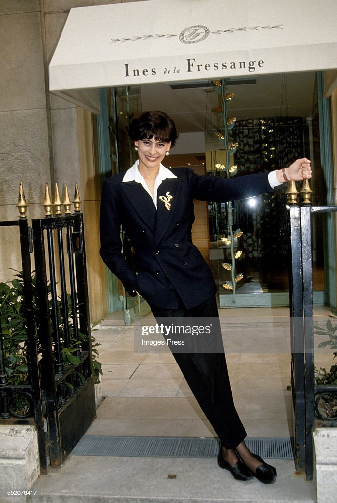 Grand Opening of the Ines de la Fressange boutique Pictures | Getty ...