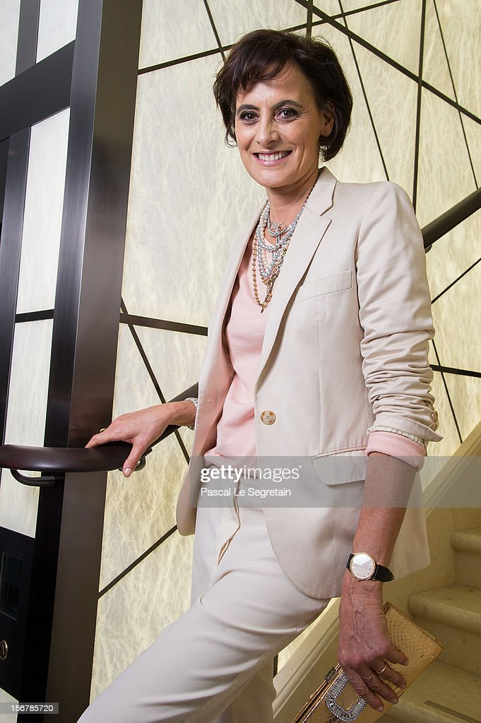 Ines de La Fressange attends Jaeger-LeCoultre Vendome Boutique Opening at Jaeger-LeCoultre Boutique on November 20, 2012 in Paris, France.