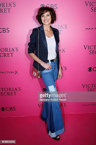 Ines de la Fressange attends the 2016 Victoria's Secret Fashion Show Held at Grand Palais on November 30 2016 in Paris France
