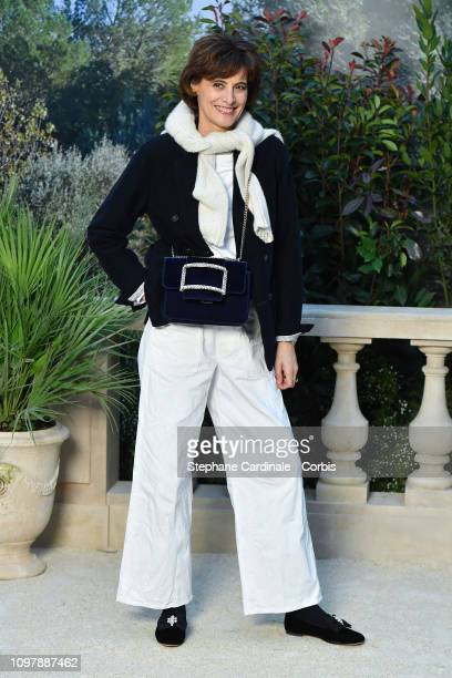 Ines de La Fressange attends the Chanel Haute Couture Spring Summer 2019 show as part of Paris Fashion Week on January 22 2019 in Paris France