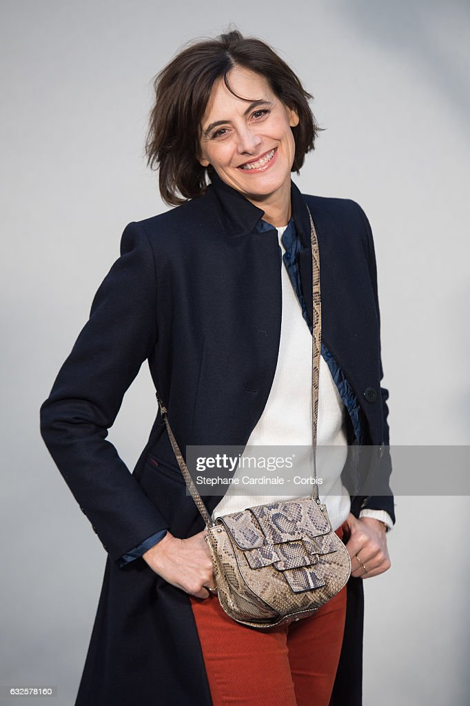 Ines De La Fressange attends the Chanel Haute Couture Spring Summer 2017 show as part of Paris Fashion Week on January 24, 2017 in Paris, France.