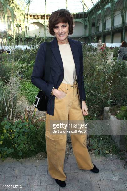 Ines de la Fressange attends the Chanel Haute Couture Spring/Summer 2020 show as part of Paris Fashion Week on January 21, 2020 in Paris, France.