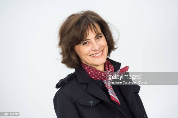 Ines De La Fressange attends the Chanel show as part of the Paris Fashion Week Womenswear Fall/Winter 2017/2018 on March 7 2017 in Paris France
