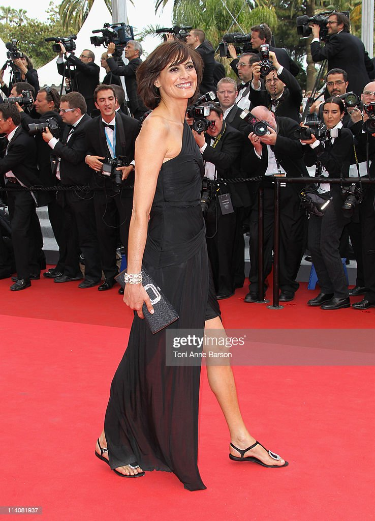 Ines de La Fressange attends the Opening Ceremony and 'Midnight In Paris' Premiere at the Palais des Festivals during the 64th Cannes Film Festival on May 11, 2011 in Cannes, France.