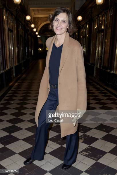 Ines de la Fressange attends the presentation of the Cahier N°3 of the philosophical meetings of Monaco on January 25 2018 in Paris France