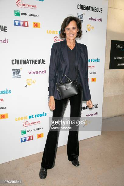 Ines de la Fressange attends the tribute to director Gerard Oury at Cinematheque Francaise on September 02 2020 in Paris France