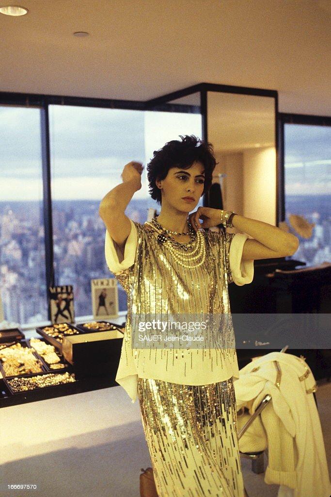 Ines De La Fressange In New York Pictures | Getty Images