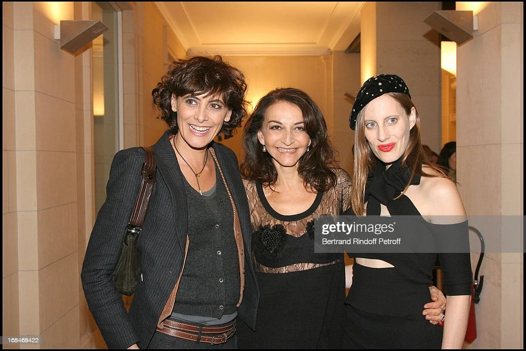 Private Viewing Of The Retrospective Of Sonia Rykiel's 40-Year Career At Musee Des Arts Decoratifs In Paris : News Photo