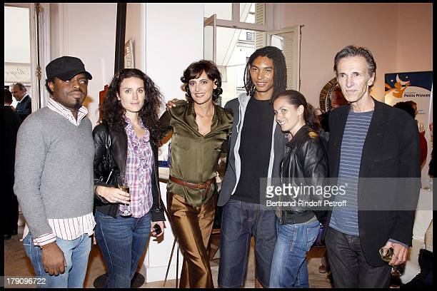 Ines De La Fressange Paulo Goude Sophie Christophe and Philippe Dolecky at Roger Vivier A Princess To Be A Queen Collection