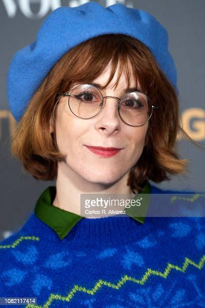 Ines de Leon attends 'Vogue LG Signature' photocall at Carlos Maria de Castro Palace on December 13 2018 in Madrid Spain