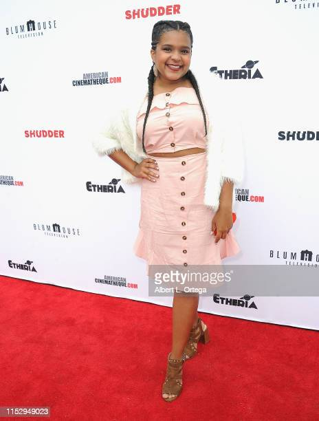 Ines de los Santos attends the 6th Annual Etheria Film Showcase held at American Cinematheque's Egyptian Theatre on June 29 2019 in Hollywood...