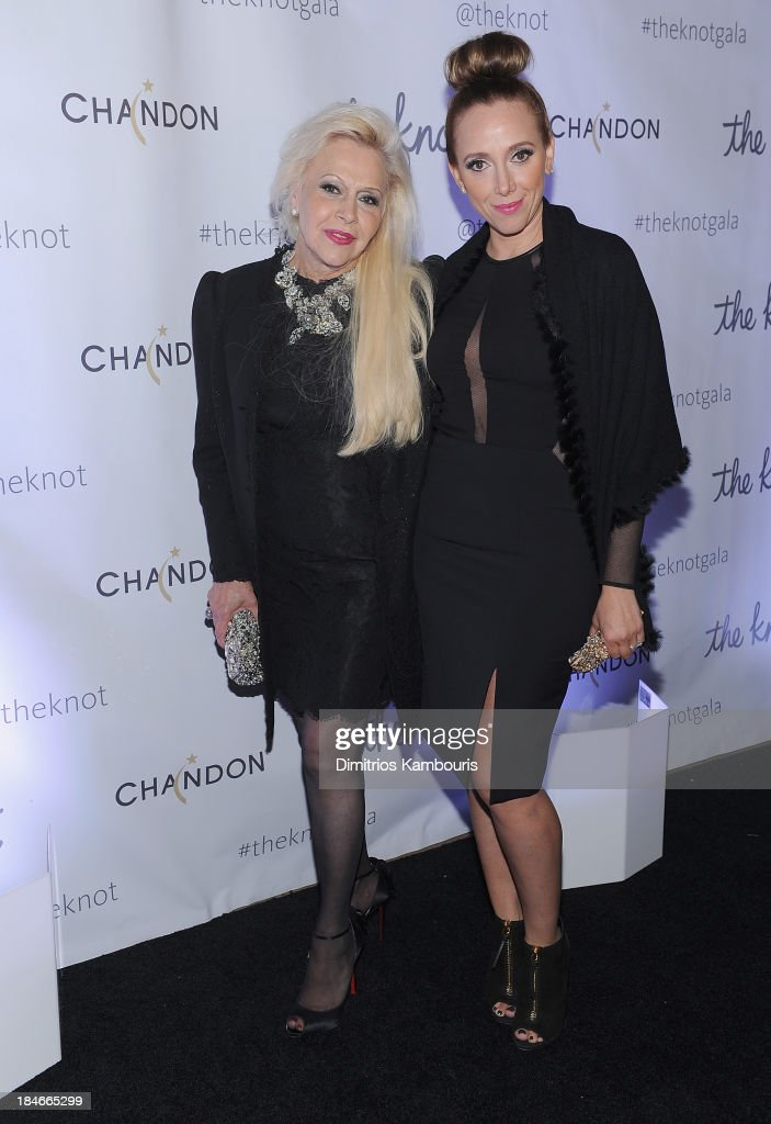 Ines Di Santo and Veronica Di Santo attend the Knot Gala 2013 at New York Public Library - Astor Hall on October 14, 2013 in New York City.