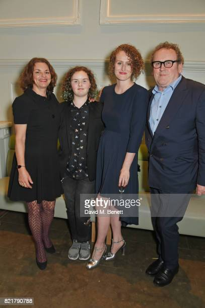 Ines Glorian Ada Meaney Brenda Meaney and Colm Meaney attend the press night after party for Cat On A Hot Tin Roof at The National Cafe on July 24...