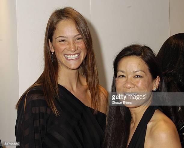 Ines Rivero and Helen Lee Schifter