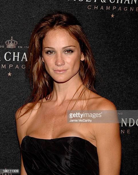 Ines Rivero during Frederic Cumenal and Elizabeth Hurley Present the Moet Chandon Fabulous Fete at Liberty Island in New York Harbor New York United...