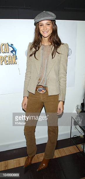 Ines Rivero during Launch party for Reach Your Peak at Chaiken Showroom in New York City New York United States