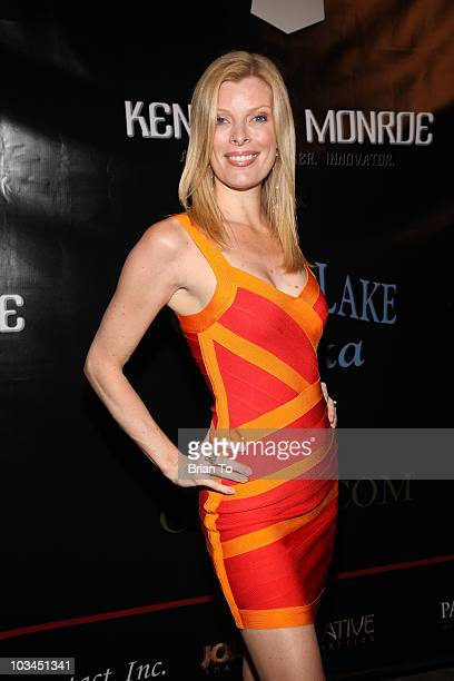 Ines Romero attends cougar style soiree hosted by Cougar Town star Carolyn Hennesy at Hotel Palomar on August 18 2010 in Los Angeles California