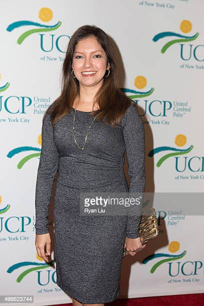 Ines Rosales attends the 6th Annual UCP Of NYC Santa Project Party and auction benefiting United Cerebral Palsy of New York City at The Down Town...