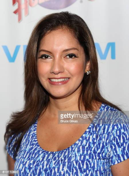 Ines Rosales poses at a celebration for The Hunter Foundation Charity that helps fund programs for families and youth communities in need of help and...